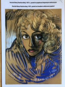 Portret Neny Stachurskiej Autorstwa Witkacego
