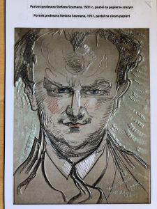 Portret Stefana Szumana Autorstwa Witkacego