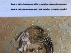 Portret Julii Fedorowicz Autorstwa Witkacego (2)