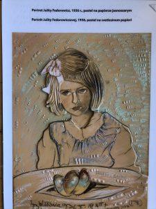 Portret Julii Fedorowicz Autorstwa Witkacego