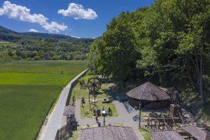 Park edukacyjny widziany z drona, zdj. M. Miłkowski