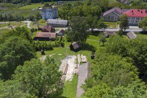 Plac budowy, skansen, zdj. M.Baraniewicz