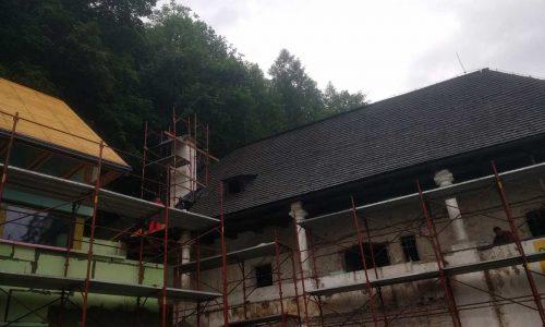 Prace Budowlane W M. Oravsky Podzamok, Zdjecia Oravske Muzeum (4)