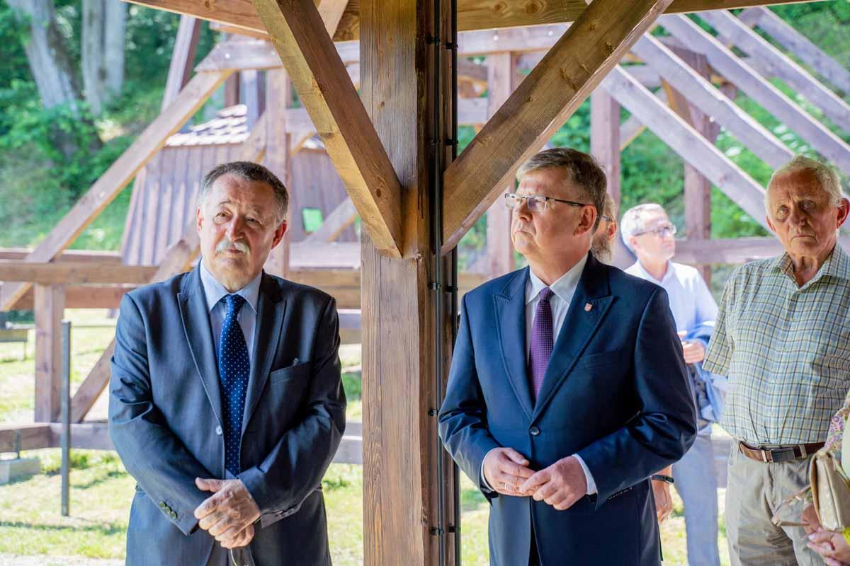 Przekazanie do użytku Parku Edukacyjno - Etnograficznego w Szymbarku, zdj. Ł.Tokarski