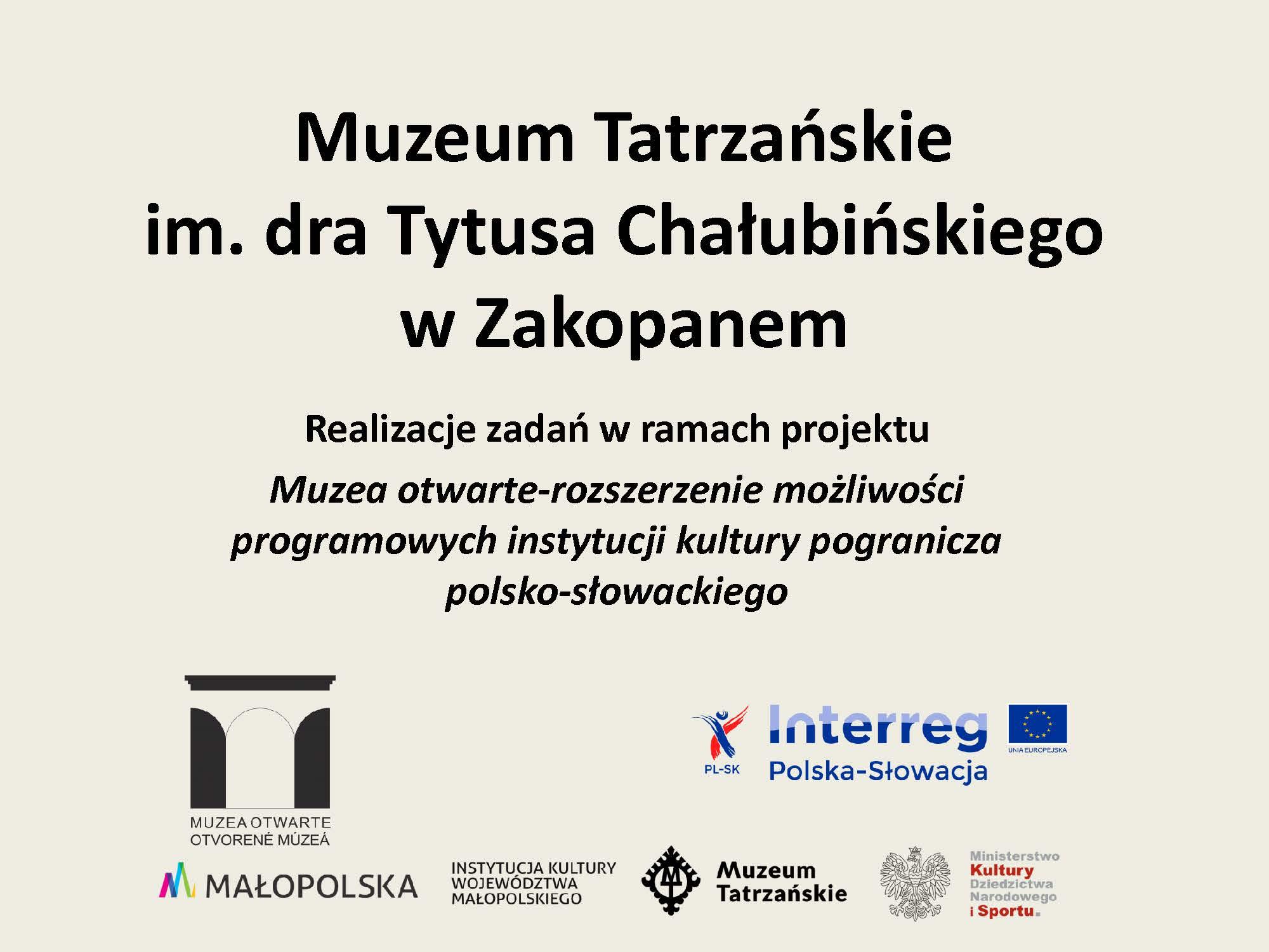 Prezentacja Muzeum Tatrzańskie