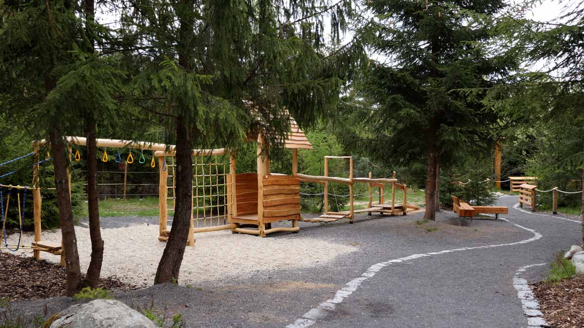 Oddychová zóna v skanzene v Múzeu liptovskej dediny v Pribyline, zdj. P.Rakoci